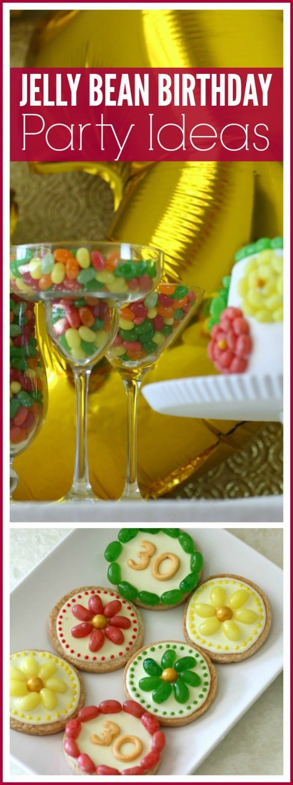 Jelly Bean Birthday Party Ideas + Free Printables | CatchMyParty.com