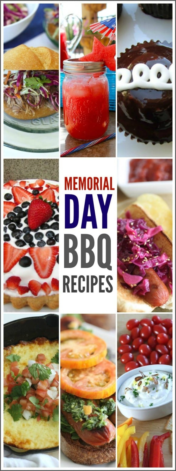 Memorial Day Recipes | CatchMyParty.com