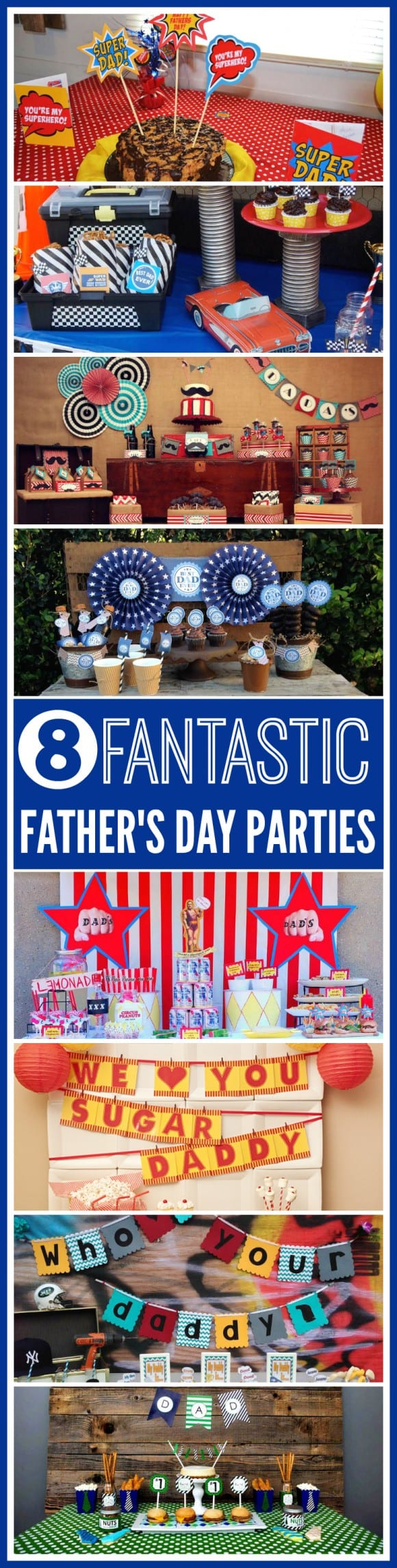 Fantastic Father's Day Parties | CatchMyParty.com