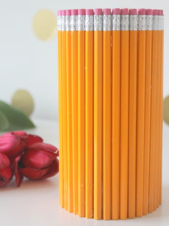 Creating the Pencil Vase | CatchMyParty.com
