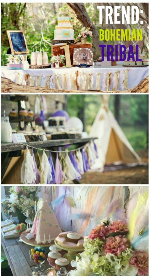 Trend Alert: Bohemian Tribal Parties | CatchMyParty.com