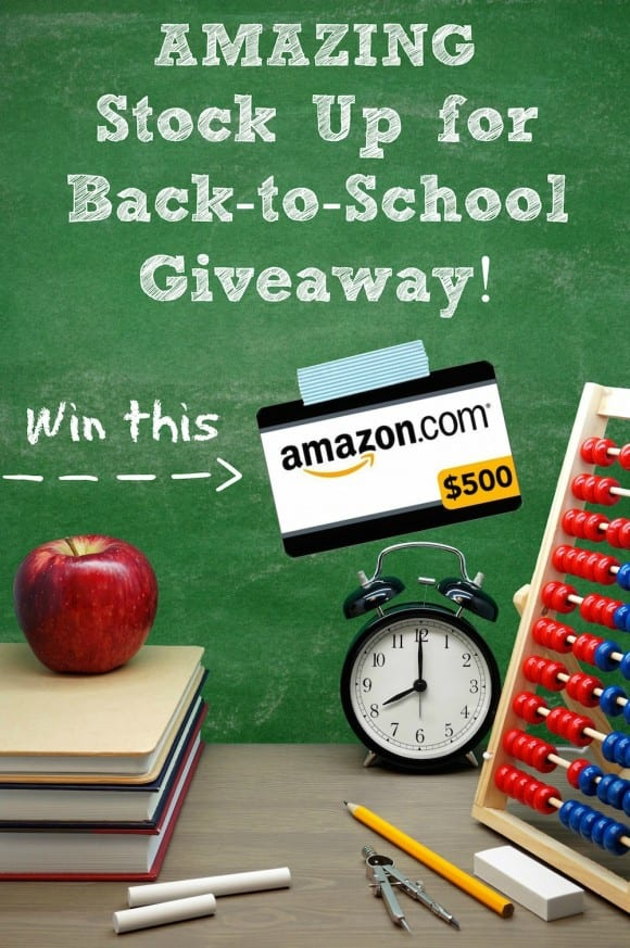 Win a $500 Amazon Gift Card | CatchMyParty.com