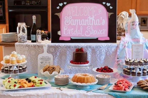 Recipe Bridal shower | CatchMyParty.com