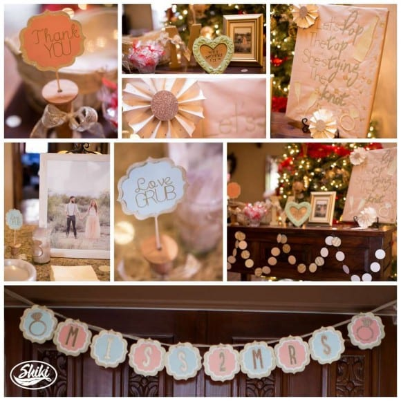 Bridal shower | CatchMyParty.com