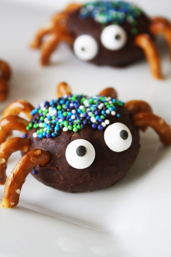Final Spider Donuts | CatchMyParty.com