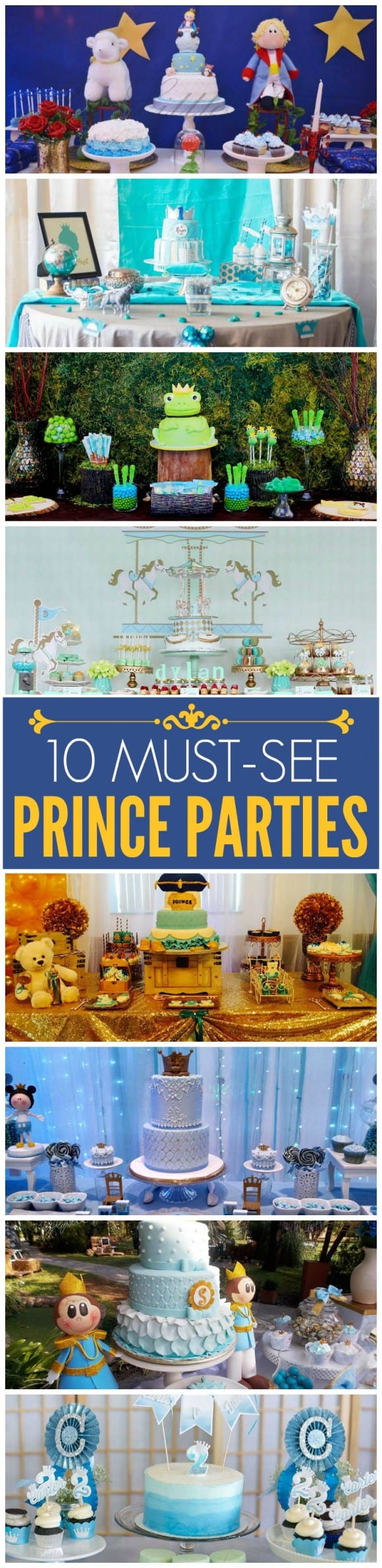 10 must see prince parties | CatchMyParty.com