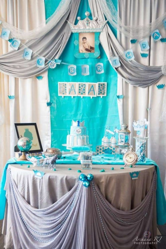Rayan's Royal Birthday Party | CatchMyParty.com