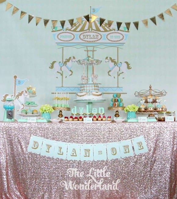 Prince Dyland's Birthday Party | CatchMyParty.com