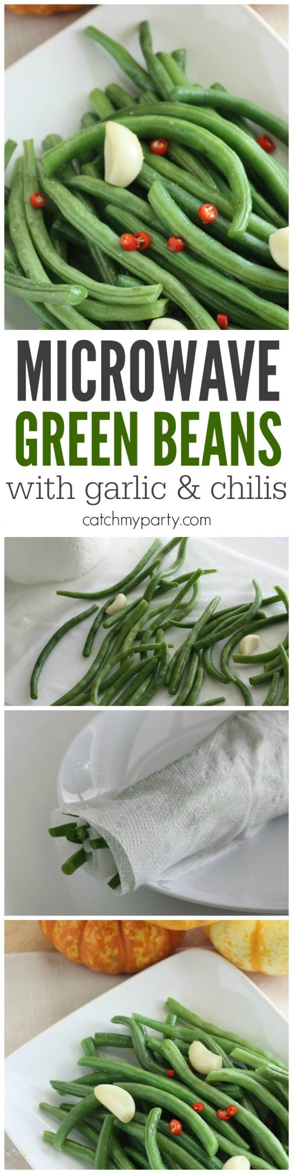 microwave-garlic-green-bean-with-garlic-and-chilis