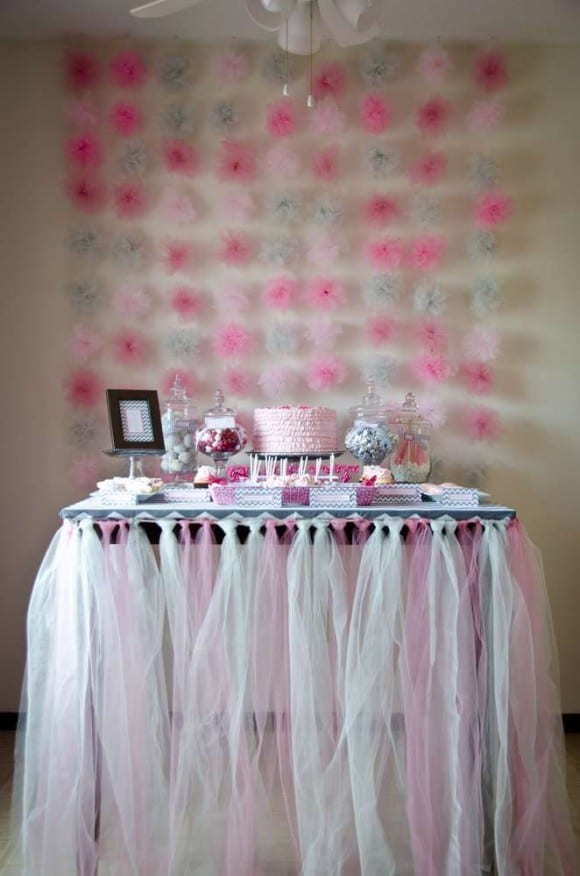 Girl 1st Birthday Wonderland Party | CatchMyParty.com