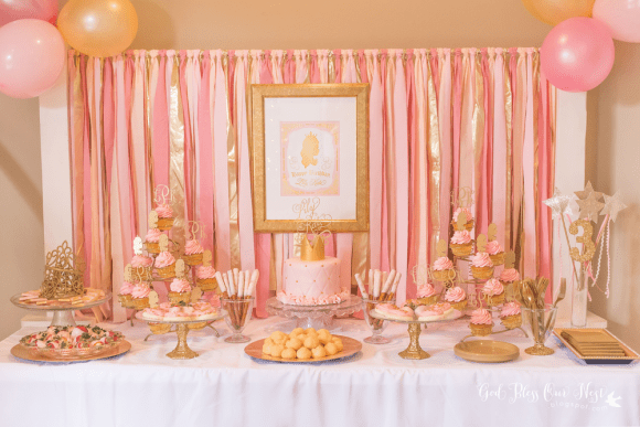 Pink and gold parties | CatchMyParty.com