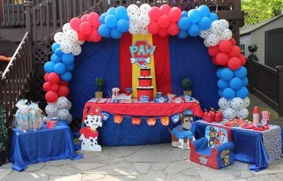 Here are the most exciting paw patrol party ideas
