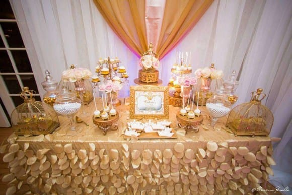 gold and pink parties royal birthday catchmypartycom