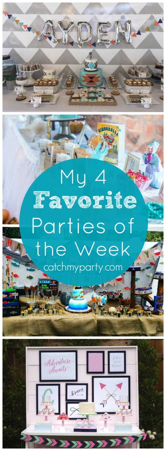 Tribal birthday parties and more | CatchMyParty.com