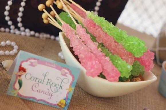 Coral rock candy | CatchMyParty.com