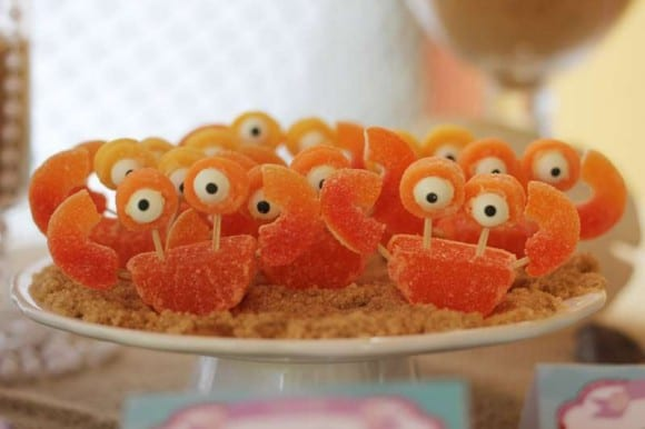 Crab candy | CatchMyParty.com