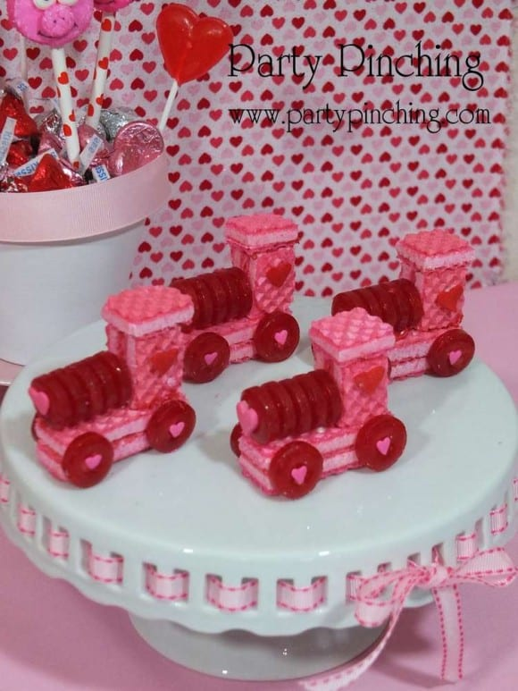 Love Train Valentine's Day Treats | CatchMyParty.com