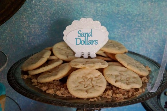 Sand dollar cookies | CatchMyParty.com