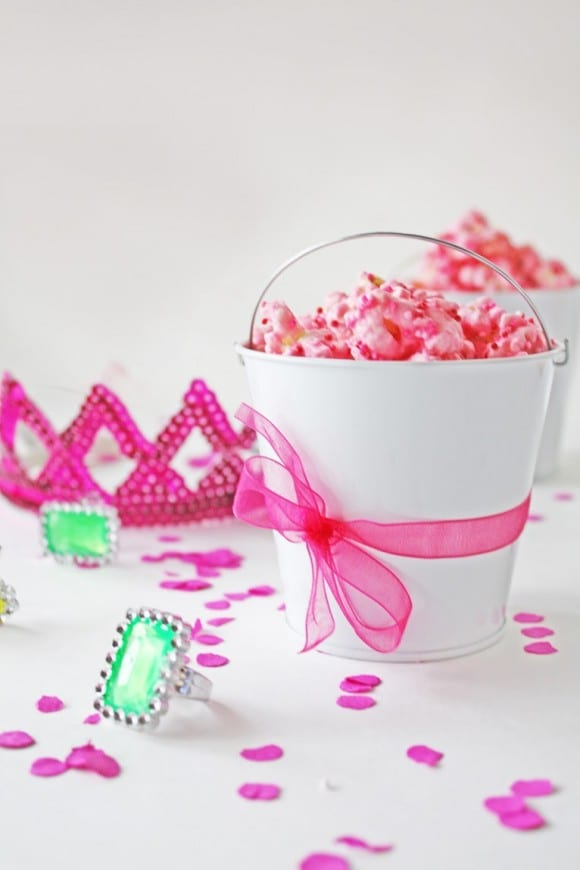 Princess Popcorn in Pink | CatchMyParty.com