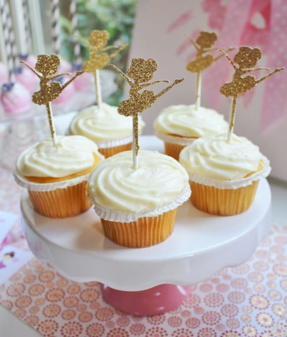 Ballerina Party Ideas + Free Printables | CatchMyParty.com