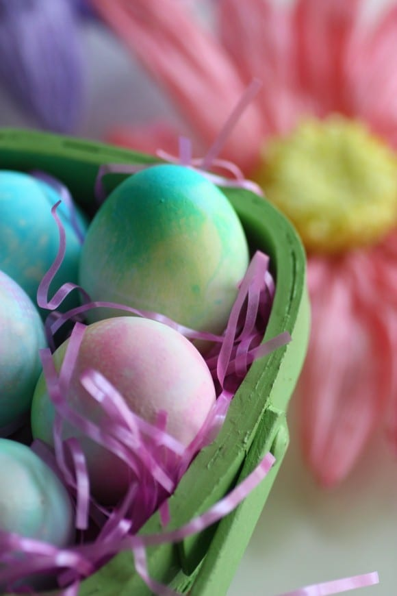 Tie Dye Easter Eggs | CatchMyParty.com