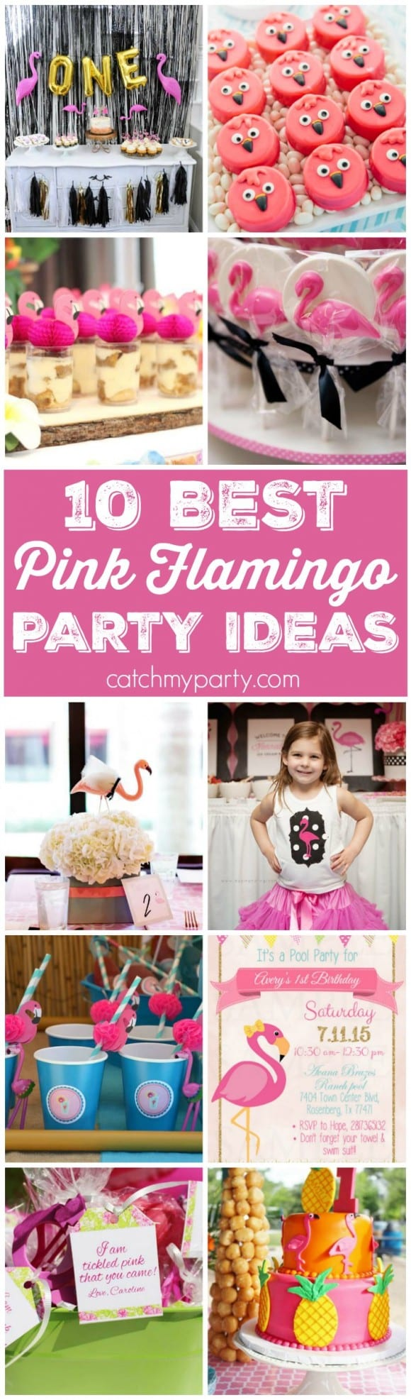 10 Best Pink Flamingo Party Ideas | Catchmyparty.com