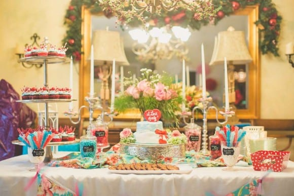 Retro housewife bridal shower | CatchMyParty.com