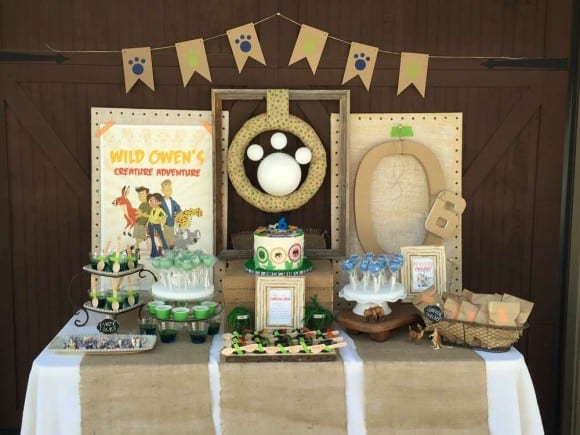 Wild Kratts birthday party | Catchmyparty.com