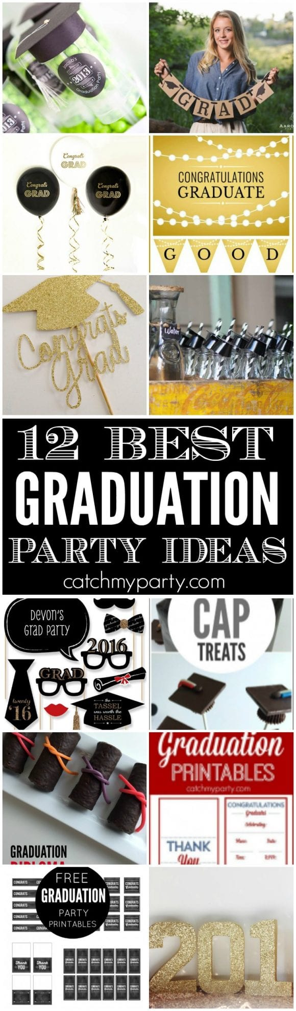 12 Best Graduation Party Ideas | CatchMyParty.com