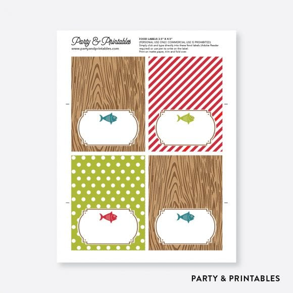 Free Father's Day Printables | CatchMyParty.com