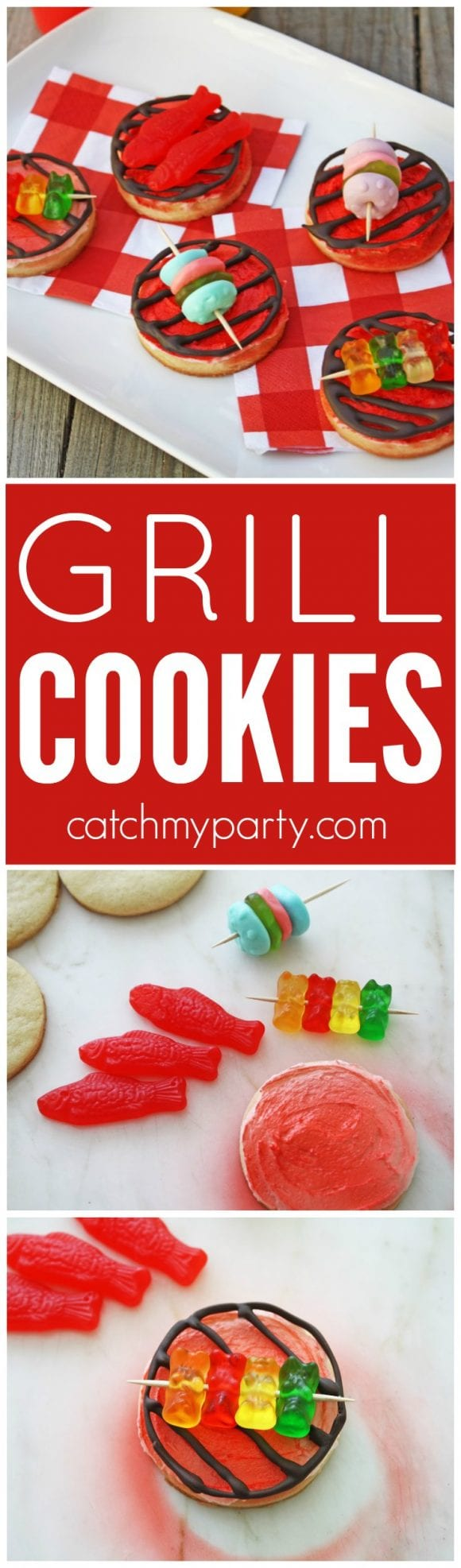 Grill cookies | Catchmyparty.com