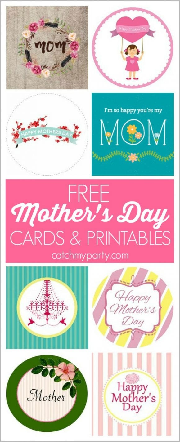 Free Mother's Day Cards & Printables | CatchMyParty.com