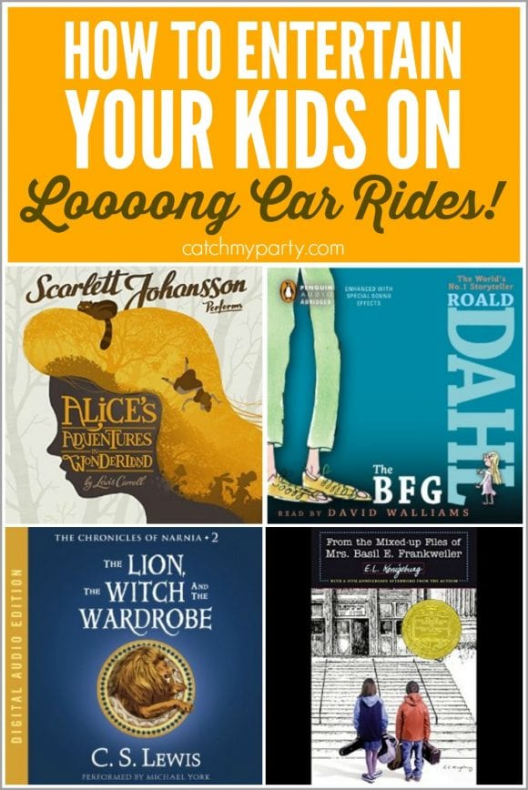 How to Entertain Your Kids on Long Car Rides | CatchMyParty.com