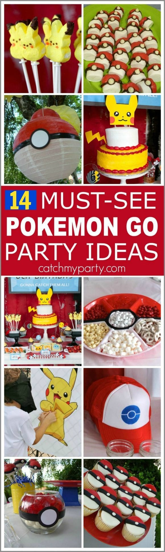 14 Must-See Pokemon Go Party Ideas | Catchmyparty.com