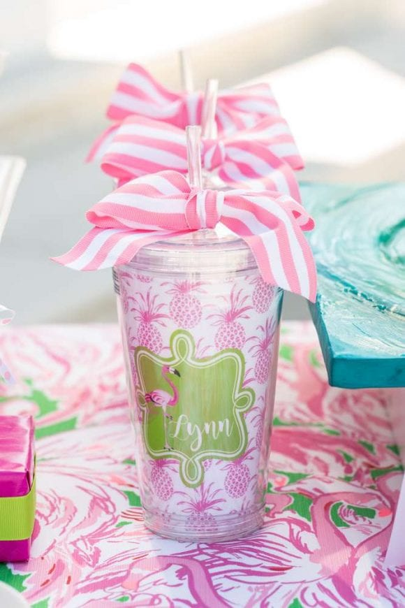 lilly pulitzer flamingo party catchmypartycom