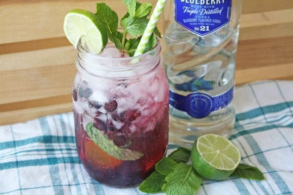 Blueberry Mojito Recipe | CatchMyParty.com