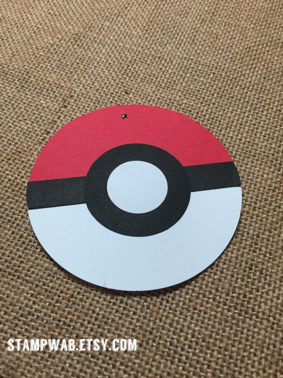 Pokemon Party Favor Tags | CatchMyParty.com