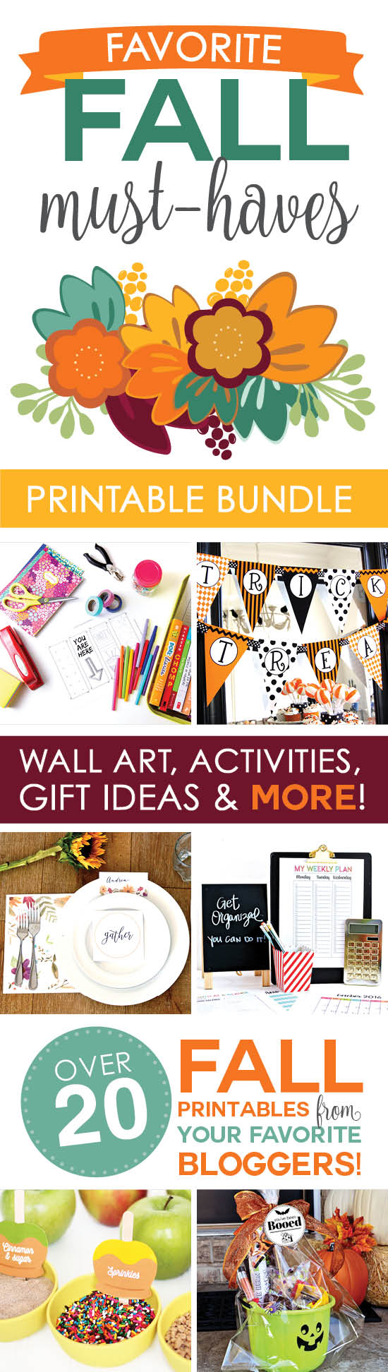 Only available for 3 days! You will want this printable bundle!
