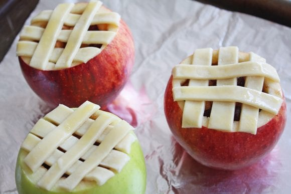 Pie Crust Formed into Lattice | CatchMyparty.com