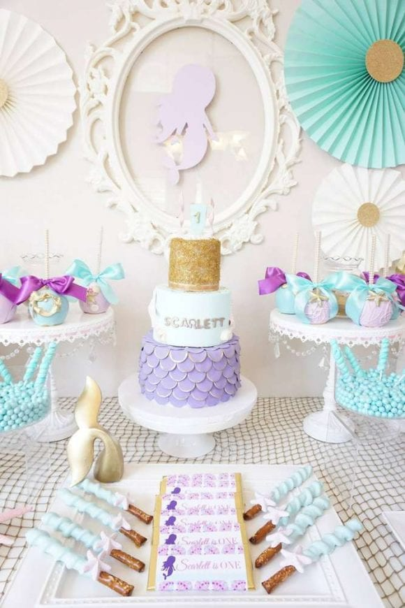 Mermaid party | CatchMyParty.com