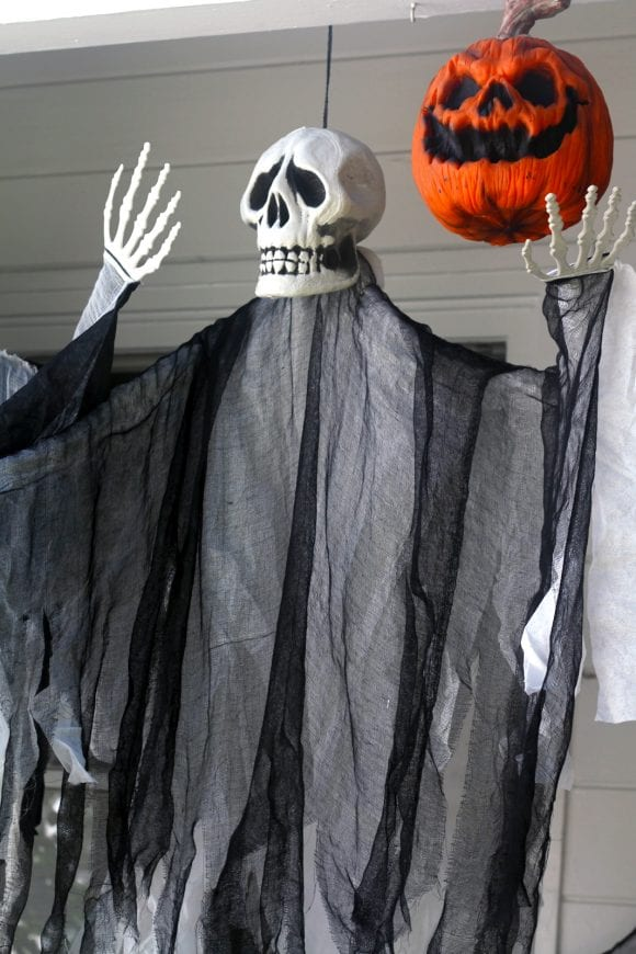 Scary Reaper Halloween Decorations | CatchMyParty.com