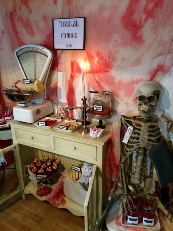 The Transylvania Morgue Halloween Party | CatchMyParty.com