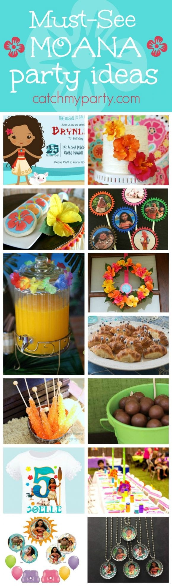Must-see Moana party ideas | CatchMyParty.com