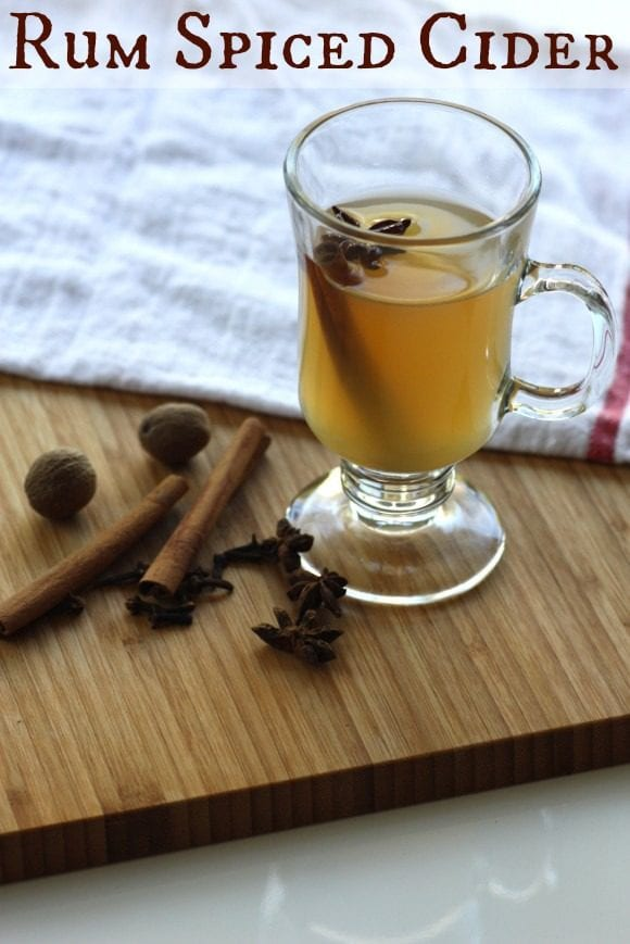 Rum Spiced Cider | CatchMyParty.com
