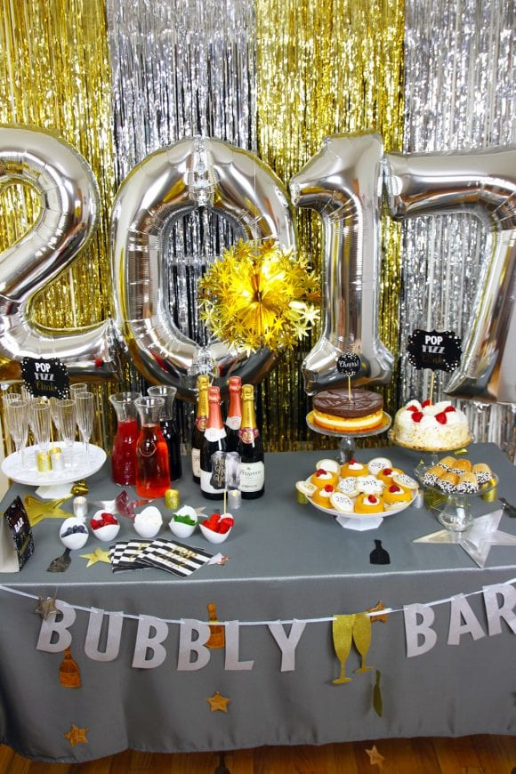 new year s eve champagne bar party ideas catch my party