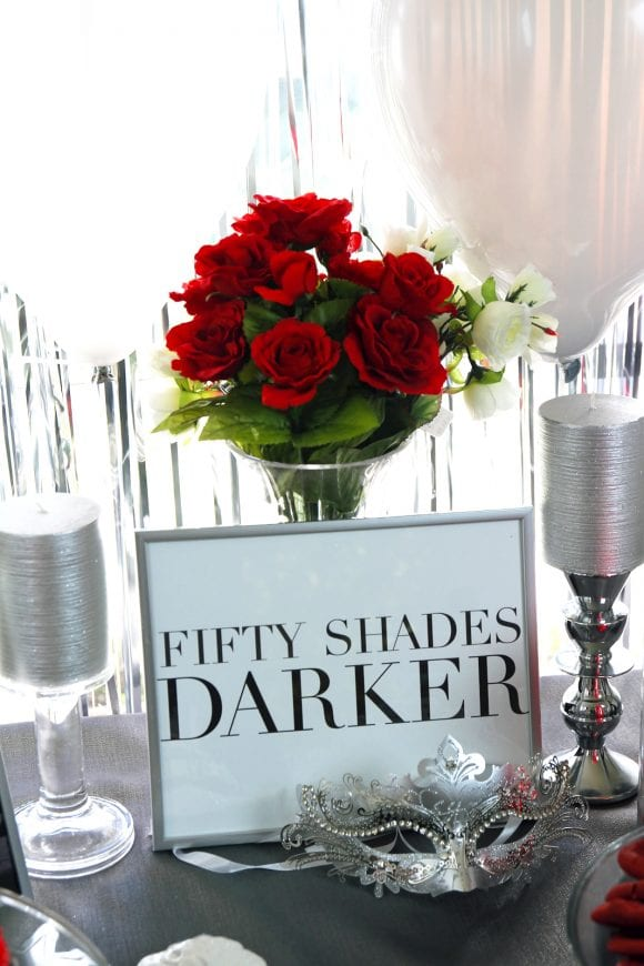 Fifty Shades Darker Cocktail Party Ideas