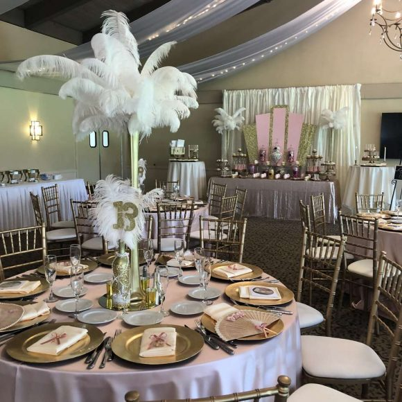 Great Gatsby Themed Quinceanera | CatchMyParty.com
