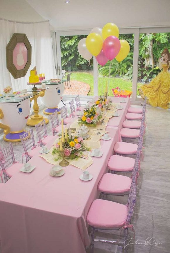 Julia's Belle Tea Party | CatchMyParty.com