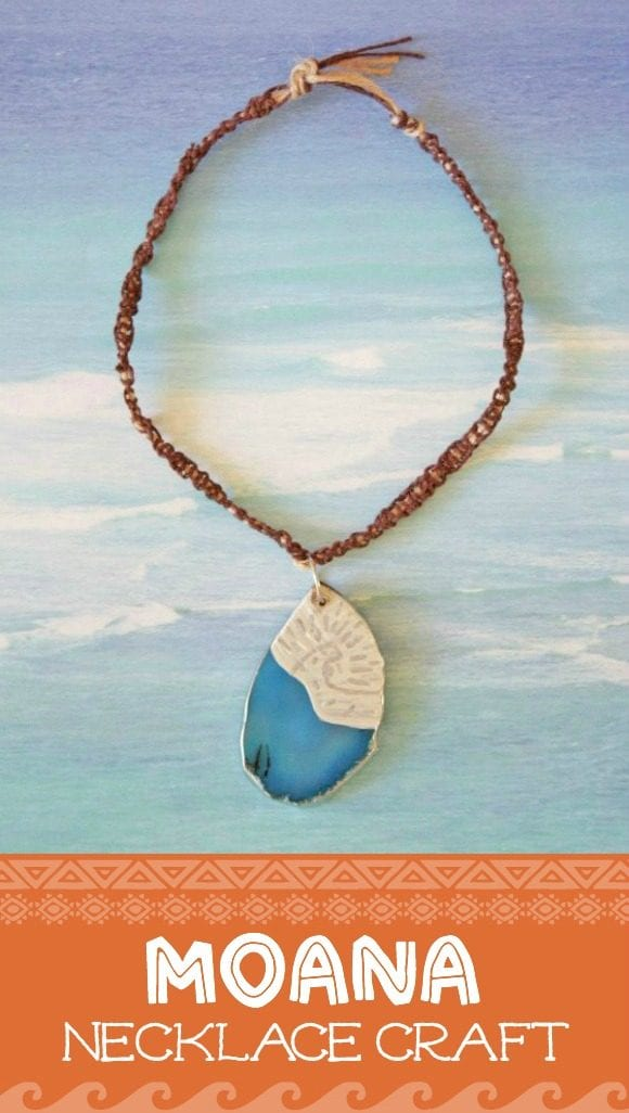 Moana Necklace Craft | CatchMyParty.com