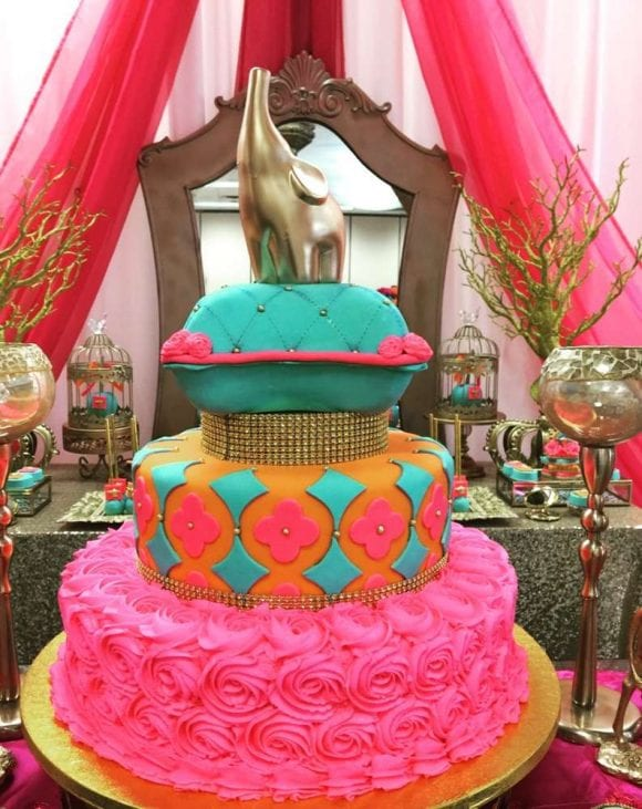 Moroccan themed Quinceanera | CatchMyParty.com